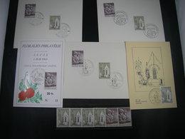 """BELG.1969 1486 & 1487 FDC's Zegels** Etc LOT : """"Arlon/Aarlen & Stedelijk Onderwijs Antwerpen"""" - FDC"""