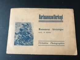 HARTMANNSWILLERKOPF / VIEIL ARMAND (88) Carnet De 12 Photos (11 * 7 Cms) - Monument Historique 1ère Guerre Arch. R.DANIS - Plaatsen