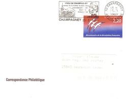 70 CHAMPAGNEY  -révolution - Flamme SECAP Esclavage - Cahier De Doléances YT 2560 - Poststempel (Briefe)