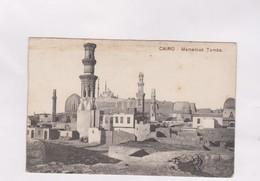 CPA LE CAIRE, MAMELOUK TOMBS En 1916! - Le Caire