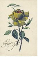 (a) Fetes & Voeux - Bonne Fete- Rose Verte - Fêtes - Voeux