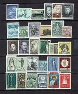 AUSTRIA...1960's...mostly Mint - 1961-70 Unused Stamps