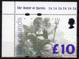 1993 £10.00 Britannia MNH - Machins
