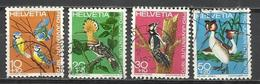 Q505Q-SELLOS SUIZA SERIE COMPLETA  PRO JUVENTUD.1970 Nº868/71 AVES PÁJAROS FAUNA.HELVETIA.SUISSE - Pro Juventute