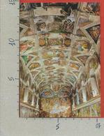 CARTOLINA NV VATICANO - Cappella Sistina - Particolare Della Volta - Michelangelo - 10 X 15 - Vatican