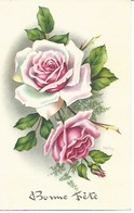 (a) Fetes & Voeux - Bonne Fete- Trio De Roses - Fêtes - Voeux