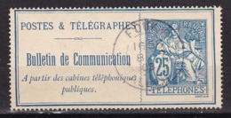 Timbre Telephone Algerie N°24 Obl. FOUKA - Telegraph And Telephone