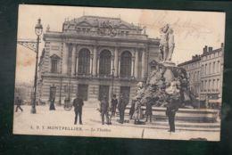 """Oblit.  Cachet De Franchise Militaire """"Service Militaire De Chemin De Fer - Gare De Montpellier"""" - Postmark Collection (Covers)"""