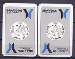 Belgie - Speelkaarten - ** 2 Jokers - Graydon Belgium - Basket Grydon Draken ** - Cartes à Jouer Classiques