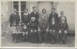 Carte Photo Ancienne : Photo D'une Grande Famille (4 Générations) - Genealogy