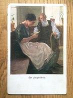Künstlerkarte AK 'Der Feldpostbrief' Wennerberg Lustigen Blätter Nr. 15, Gelaufen Als Feldpost 1917 Ohligs, WW I - Wennerberg, B.