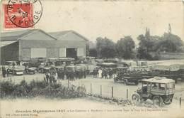 BORDEAUX-grandes Manoeuvres De 1907-les Camions à Leur Arrivée Dans Le Parc Le 1/09/1907 - Bordeaux