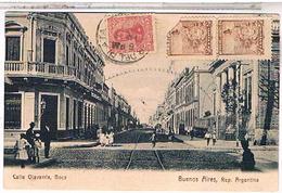 Argentine BUENOS AIRES CALLE OLAVARRIA BOCA  1908 US41 - Argentina