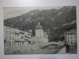 73 Moutiers, L'évéché Et Pont Sur L'Isère (A5p12) - Moutiers
