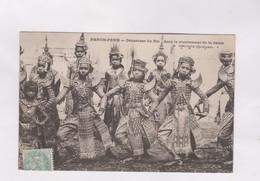 CPA PHNOM PENH, DANSEUSES DU ROI, En 1909 - Cambodge