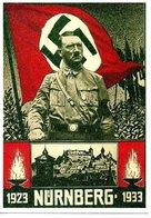 Adolph Hitler NURNBERG  1923 1933 - Personnages
