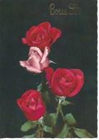 (a) Fetes & Voeux - Bonne Fete- 4 Roses - Fêtes - Voeux