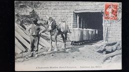 L'industrie Minière Dans L'Aveyron. Intérieur Des Mines. - Zonder Classificatie