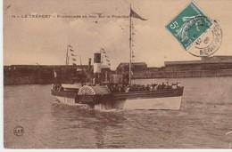 76470 LE TREPORT - LA PICARDIE En 1909 - Bateaux