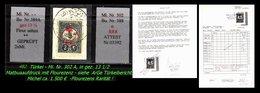 TURKEY ,EARLY OTTOMAN SPECIALIZED FOR SPECIALIST, SEE... Mi. Nr. 302 A - Mit Flourezenz - RRR- Attest - 1858-1921 Ottoman Empire