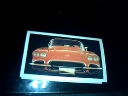 Calendrier Publiciaire De 1996 Albi Reftification Entète Voiture Corvette - Calendriers