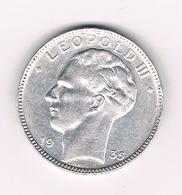 20 FRANC 1935  BELGIE /2143/ - 1934-1945: Leopold III