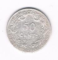 50 CENTIMES 1911 VL BELGIE /2145/ - 1909-1934: Albert I