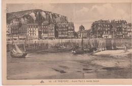 76470 LE TREPORT - AVANT PORT Et PANORAMA En 1935 - Bateaux