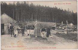88  Au Col De Sainte -marie La Frontiere Bien Gardee - Frankreich