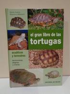 El Gran Libro De Las Trotugas Acuáticas Y Terrestres. Ed. De Vecchi, 2004. Nuevo - Sciences Manuelles