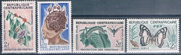 Republica Centroafricana 1960 / 67  -  Yvert + 52 + 55 + 89  ( ** ) - República Centroafricana