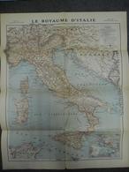Carte De MARS 1918 - Guerre 1914 1918 - ITALIE CORSE SARDAIGNE SICILE HONGRIE Et Bas Autriche - Cartes Géographiques