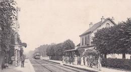 60 /PRECY SUR OISE / INTERIEUR DE LA GARE / PRECURSEUR 1905 - Précy-sur-Oise