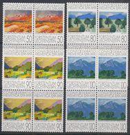 Liechtenstein 1991 Hommage And Die Schweiz 4v Bl Of 4 ** Mnh (42148F) - Liechtenstein