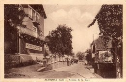 -46- ALVIGNAC - Avenue De La Gare - France