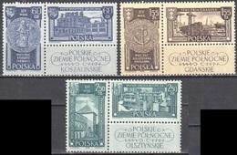 Poland 1962 Northern Territories - Mi 1319-24 - MNH(**) - Unused Stamps