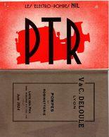 Catalogue électro-pompes NIL + Feuillet 4p. Pompe à Piston + 1 Tarif Juin 1924 - France