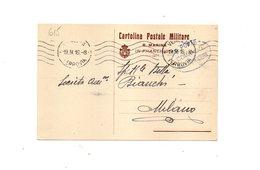 "LAB615- REGNO 1915 , Cartolina Postale R. Marina In Franchigia "" "". - 1900-44 Vittorio Emanuele III"