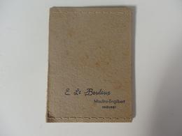 Pochette Photo Du Studio E. Le Bouleux à Moulins-Engilbert  (Nièvre). - Photographie