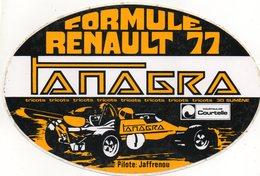 Autocollant RENAULT FORMULE 1 - Aufkleber