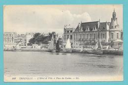 TROUVILLE L'HOTEL DE VILLE ET PLACE DU CASINO UNUSED - Trouville