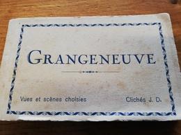 CPA SUISSE CARNET DE 20 CPA DE GRANGENEUVE THEME AGRICULTURE 100 % SCANNE TRES GROSSES ANIMATIONS !! - FR Fribourg