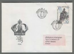 C4127 Ceska Republika FDC 1997 PRAHA NAHROBEK RABIHO LOWA 10 KC VG - FDC