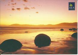 CARTE POSTALE - NOUVELLE ZÉLANDE - OTAGO - Moeraki Boulders - Nouvelle-Zélande