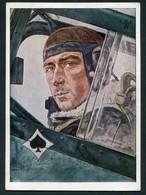 AVIATEUR ALLEMAND - OBERST MOLDERS - ILLUSTREE PAR W.WILRICH - Weltkrieg 1939-45