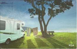 CARTE POSTALE - NOUVELLE ZÉLANDE - Campervans - Nouvelle-Zélande