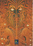 CARTE POSTALE - NOUVELLE ZÉLANDE - Maori Carvings - Nouvelle-Zélande