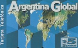 PREPAID PHONE CARD ARGENTINA  (PM1250 - Argentina