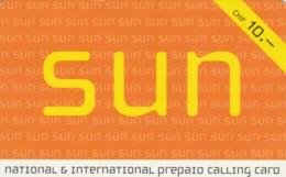 PREPAID PHONE CARD SVIZZERA  (PM1277 - Svizzera