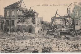 62510 LIEVIN - GUERRE 1914 1918 MINE BOMBARDEE - Lievin